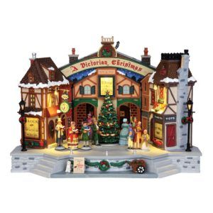 a christmas carol play teatro 45734-lemax