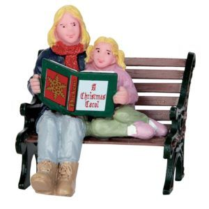 christmas story book panchina 52335 figurina