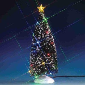 multi light evergreen tree 74263