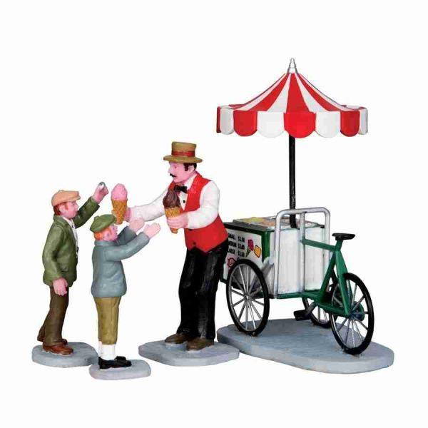 gelato cart-gelataio-lemax-32139