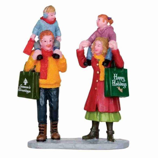 family christmas shopping 22022 lemax