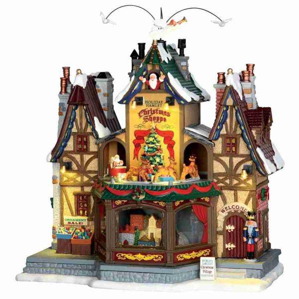 holiday hamlet christmas shoppepe 55026 lemax