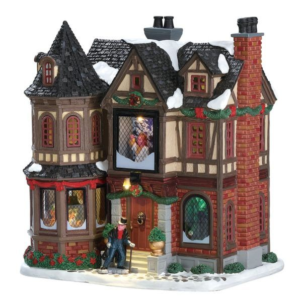 scrooges manor-casa-75191-lemax