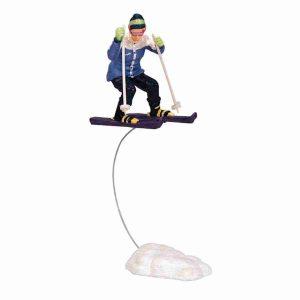 skiing girl sciatrice 32771 lemax