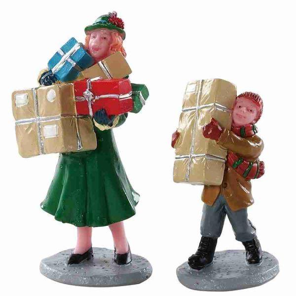 christmas rush 82610 lemax villaggi figurina