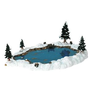 mill pond stagno innevato-94387-lemax