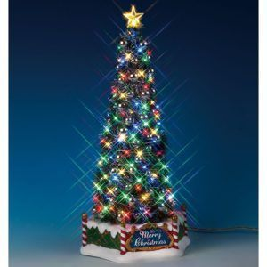 new majestic christmas-tree-84350-lemax
