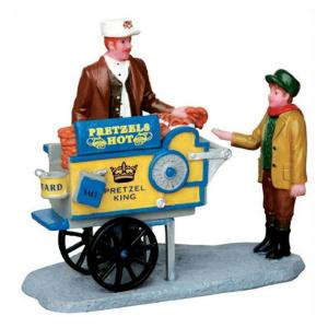 pretzel-king pretzel cart-42238-lemax