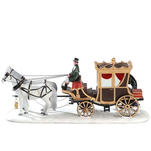 the duchess arrives-carrozza-73309-lemax
