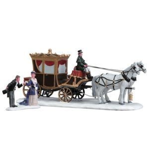 the duchess arrives-carrozza-73309-lemax