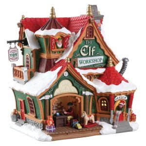 the elf workshop-laboratorio-75291-lemax