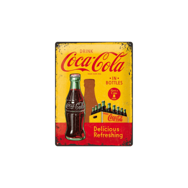 refreshing coca cola