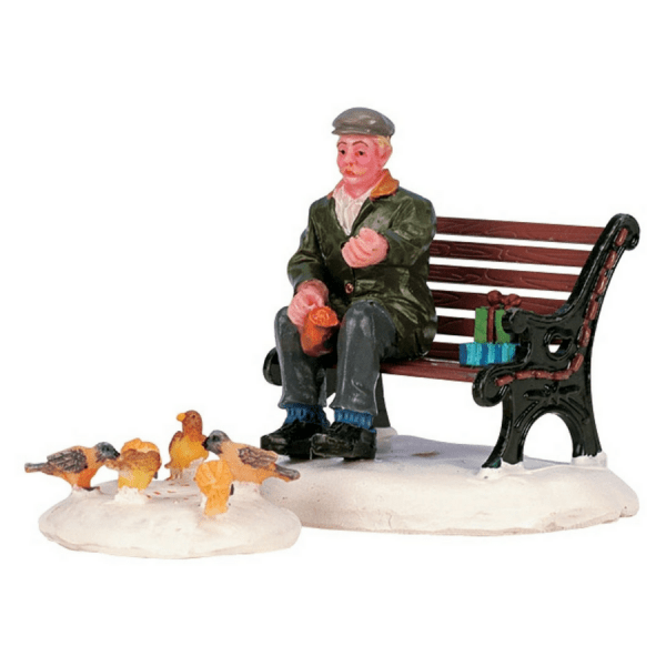 feeding pigeons 42905 lemax