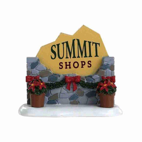 summit sign insegna 84364 lemax