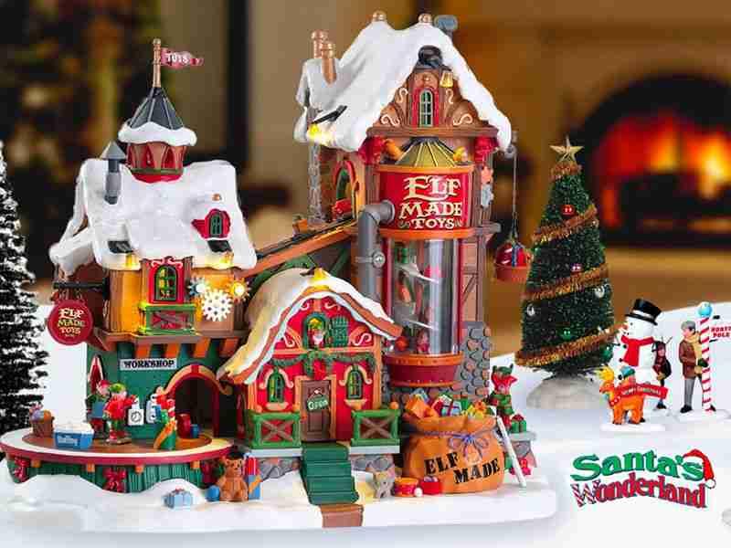 Santa s wonderland villaggi Lemax