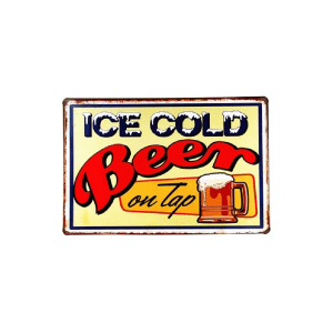 Ice Cold Beer On Tap insegna