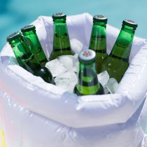 beer cooler inflatable bucket