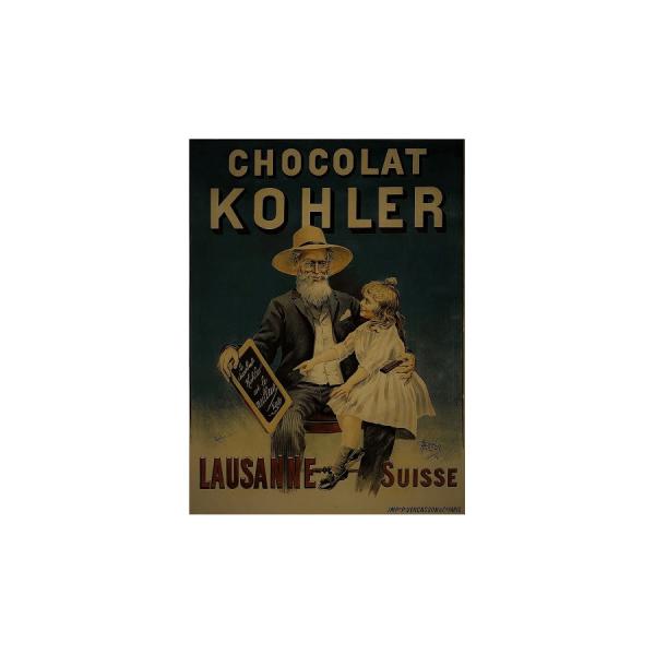 kohler chocolat insegna pubblicità