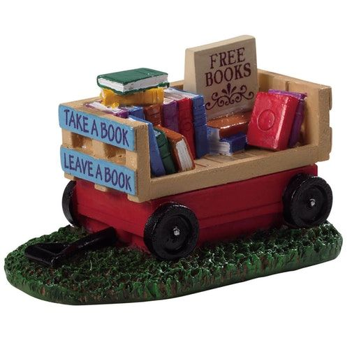 book wagon lemax 94534