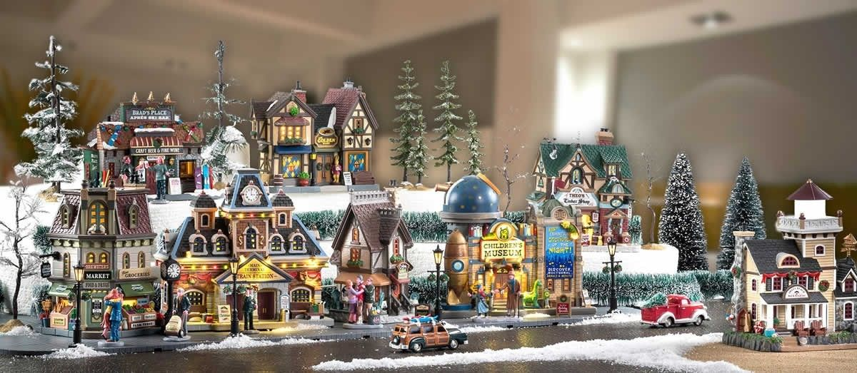 villaggio natalizio lemax
