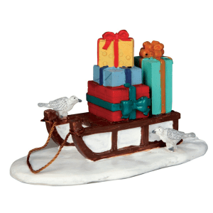 sled with presents 54937
