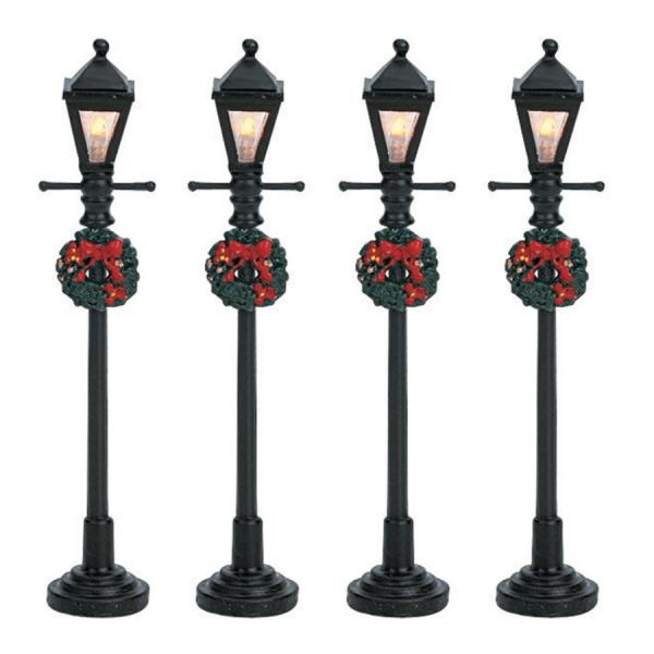 gas lantern street lamp 64498 lemax
