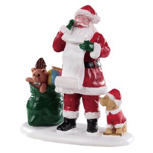 naughty or nice santa lemax 92760