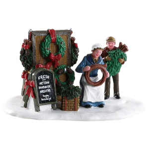 handmade wreaths 83362 lemax