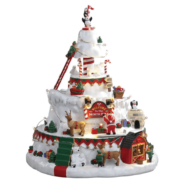 north pole tower 84348 lemax