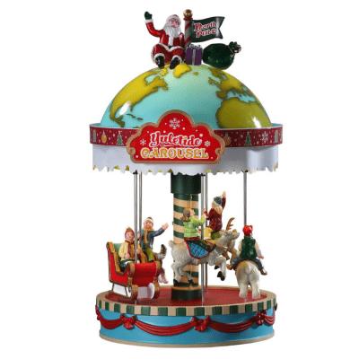 yuletide carousel 94525 lemax
