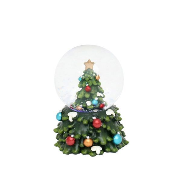 snowball tree 50 1372 snowglobe natale
