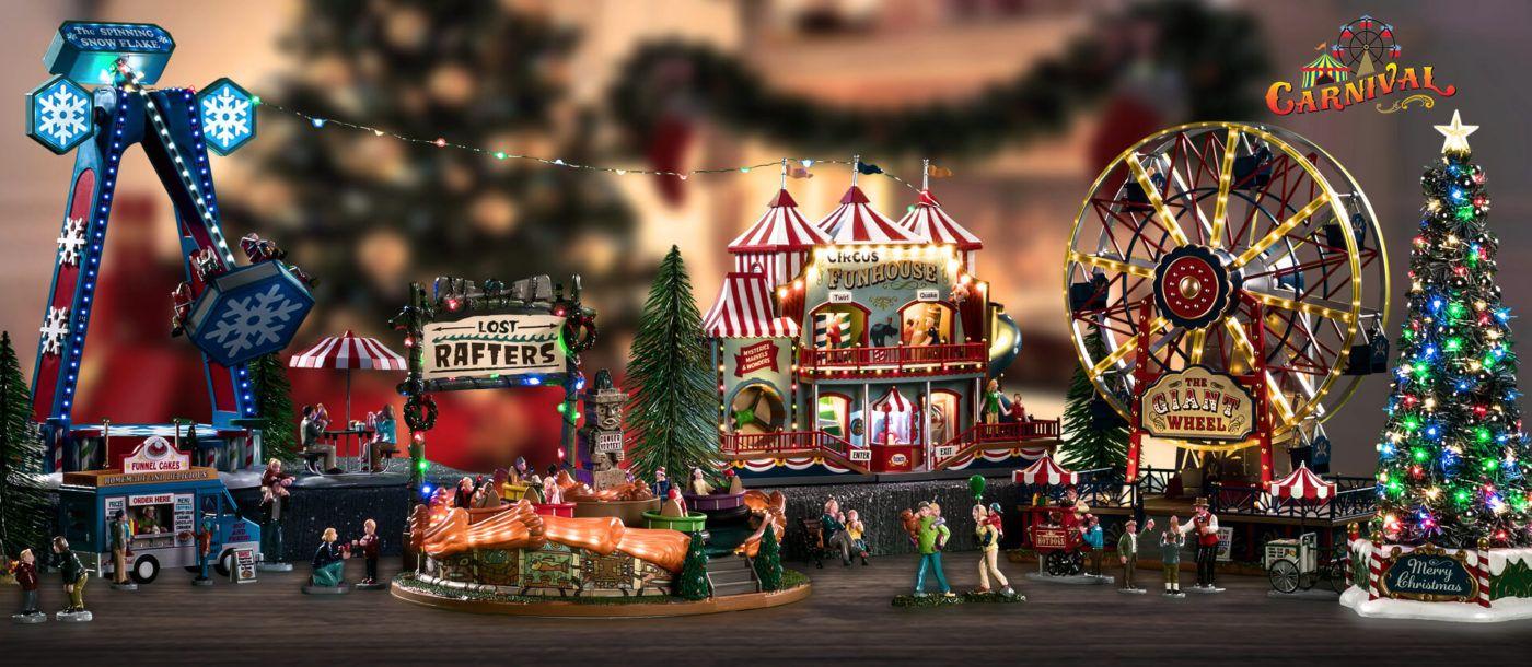 collezione carnival lemax