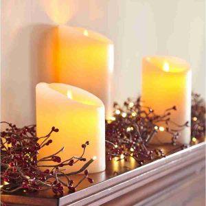 set candele no flame 153606