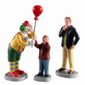 friendly clown 02953 lemax