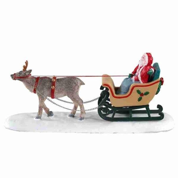 north pole sleigh ride 03514 lemax
