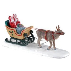 north pole sleigh ride 03514 lemax