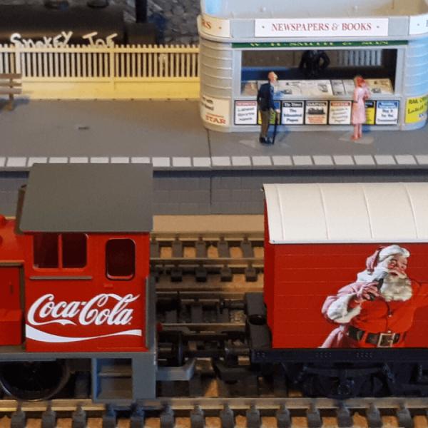 set treno coca cola r1233