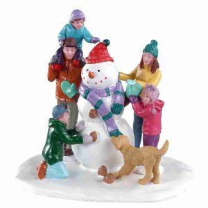 snowman teamwork 03511 lemax