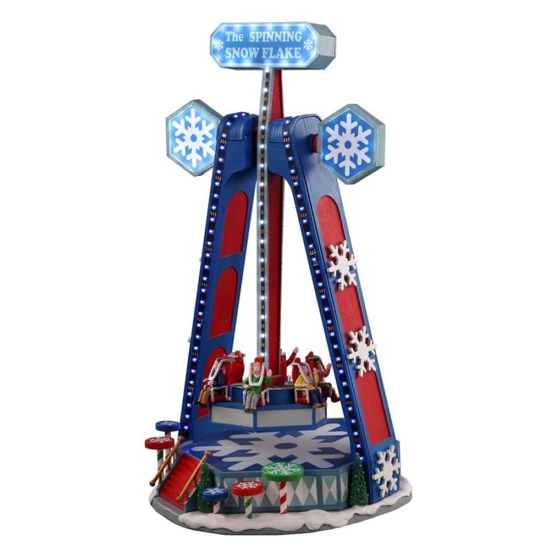 the spinning snowflake 04737 lemax