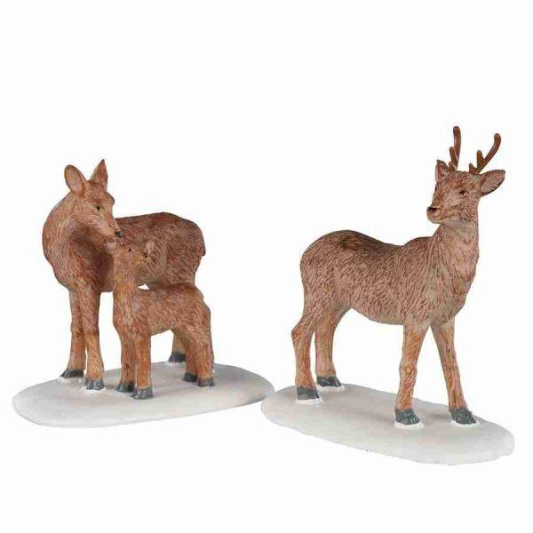 deer family 02929 lemax