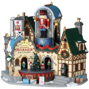 ludwig's wooden nutcracker factory 95463 lemax