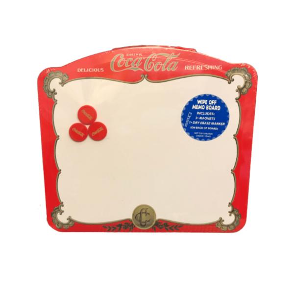 magnetic memo board coca cola