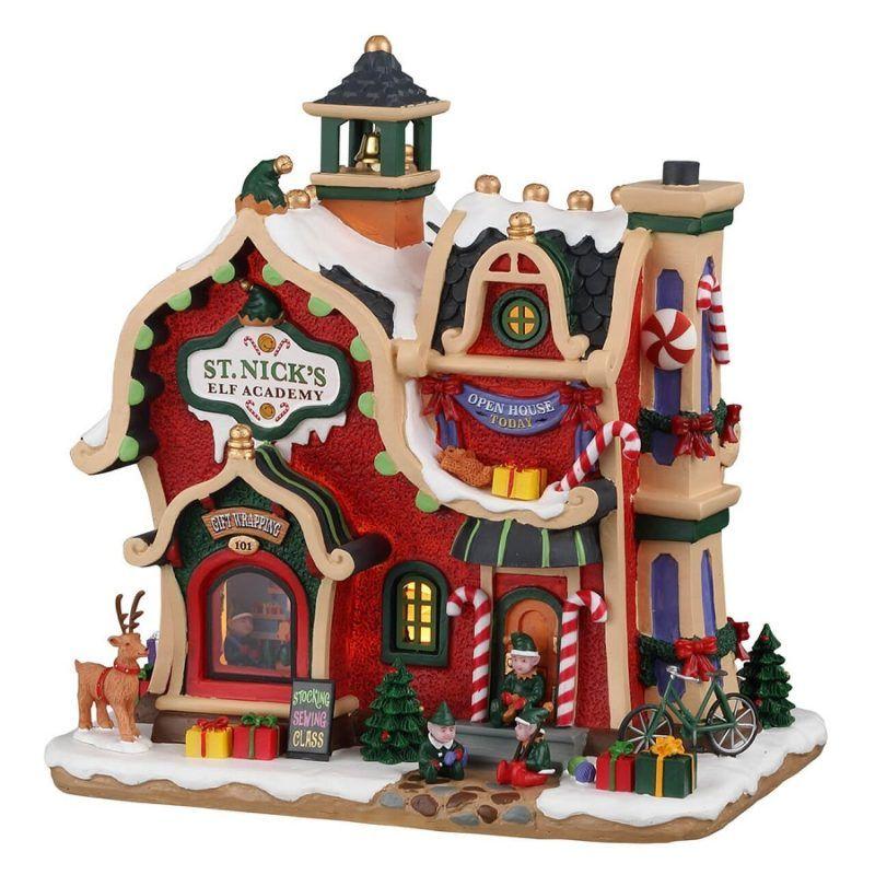 st. nick's elf academy 95530 lemax santa 's wonderland