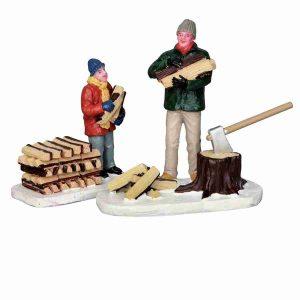 stacking firewood 52323 lemax