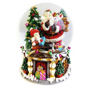 carillon babbo natale snowball