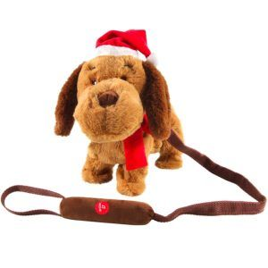 christmas dog walking 23099902