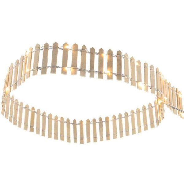 fence wooden led recinzione