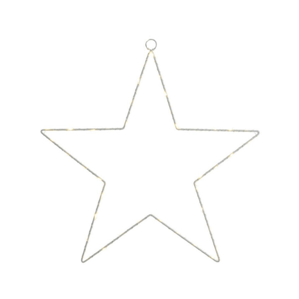 metal star led 110 decorazione luminosa