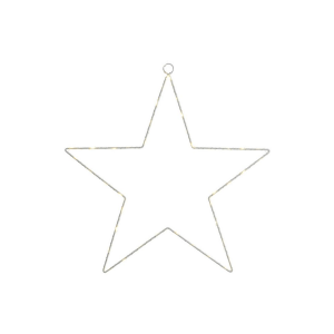 metal star led 89 decorazione luminosa