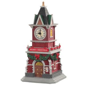 Tannenbaum Clock Tower lemax 05679